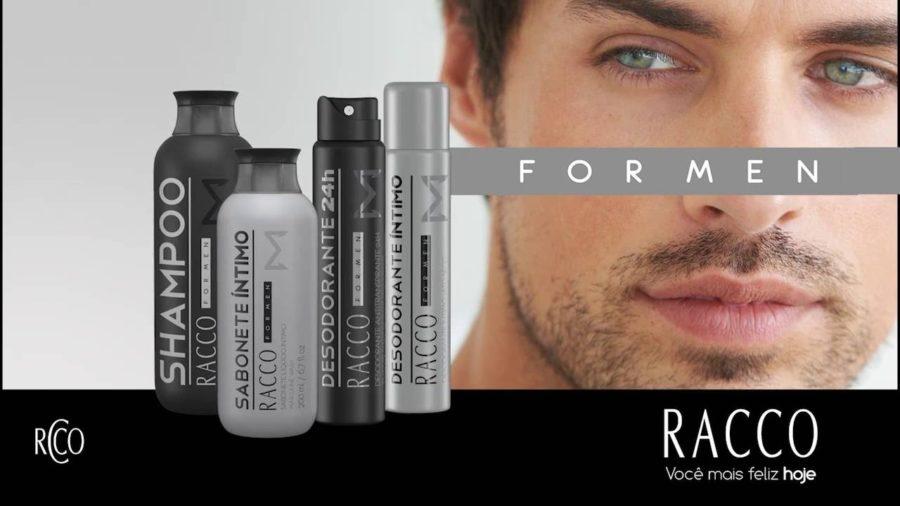 Produtos de beleza para homens Racco For Men